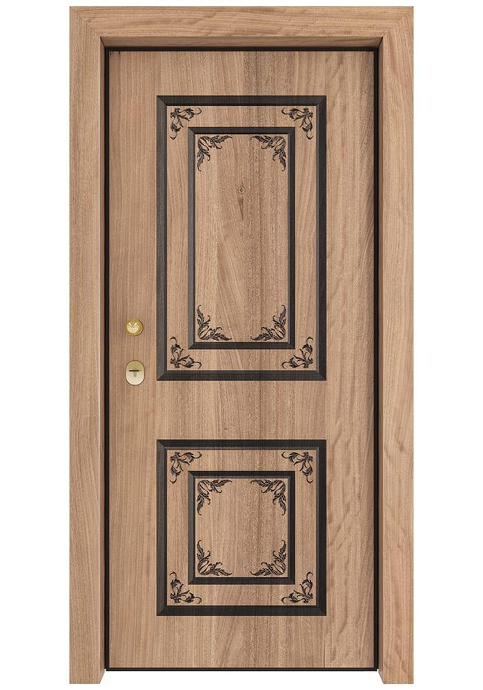 Εικόνα Θωρακισμένη Πόρτα Ανιγκρέ φυσικό