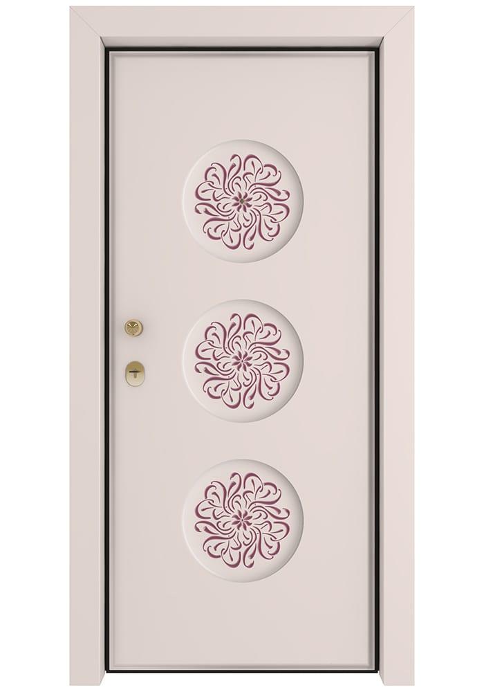Εικόνα Θωρακισμένη Πόρτα Λάκα RAL με πατίνα