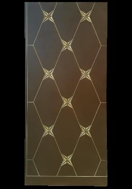 Εικόνα Θωρακισμένη Πόρτα Ral με πατίνα