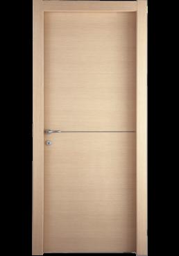 Εικόνα Θωρακισμένη Πόρτα Δρυς με inox