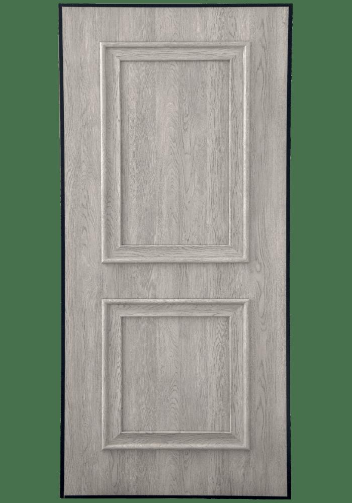 Εικόνα Θωρακισμένη Πόρτα Χειροποίητο ντεκαπέ γκρι