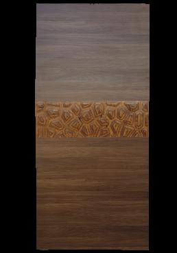 Εικόνα Θωρακισμένη Πόρτα Noce με μασίφ εφέ