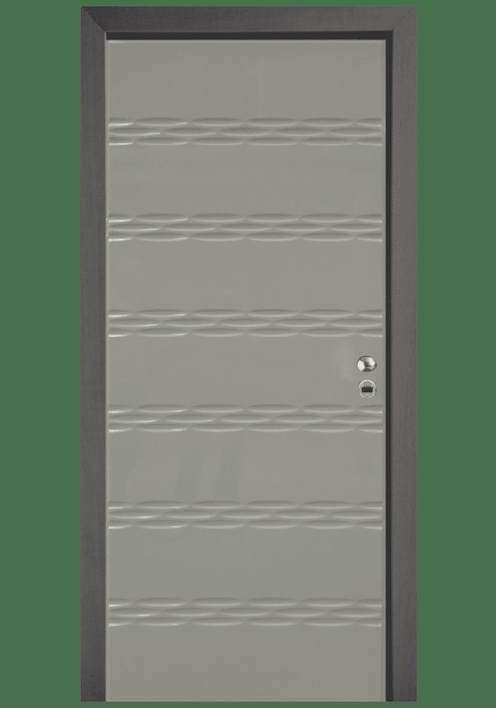 Εικόνα Θωρακισμένη Πόρτα Λάκα RAL τρισδιάστατο ανάγλυφο