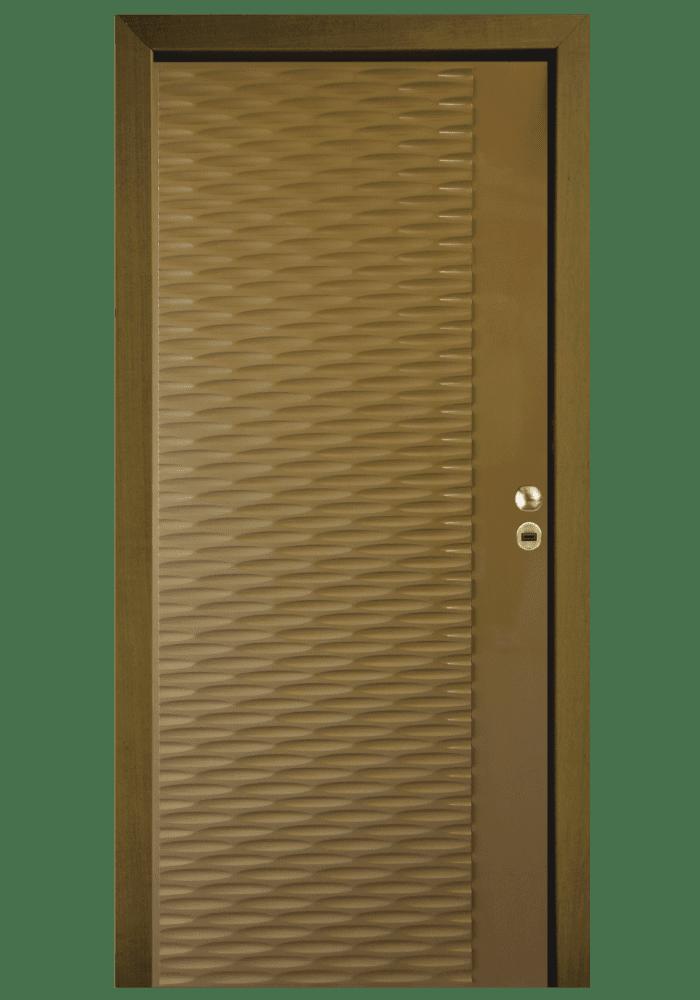 Εικόνα Θωρακισμένη Πόρτα Χρώμα RAL τρισδιάστατο ανάγλυφο