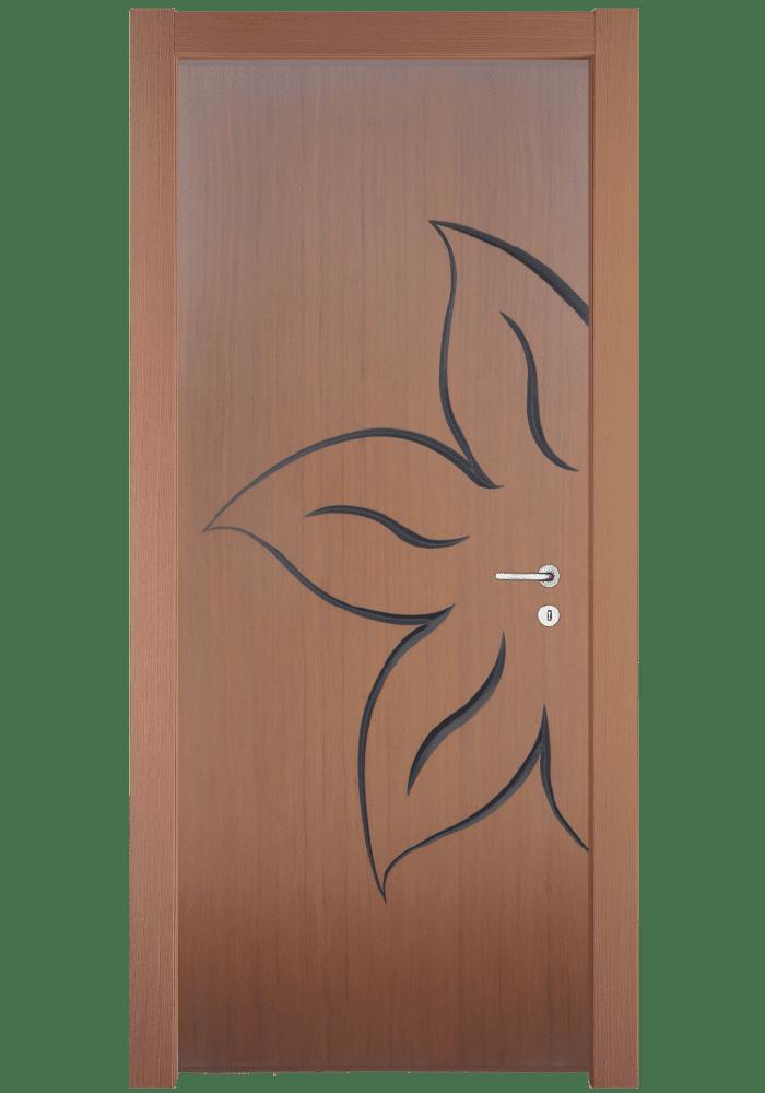 Εικόνα Θωρακισμένη Πόρτα Δρυς τρισδιάστατο με πατίνα