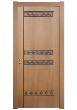 Εικόνα Θωρακισμένη Πόρτα Ανιγκρέ φυσικό σκαλιστό ανάγλυφο
