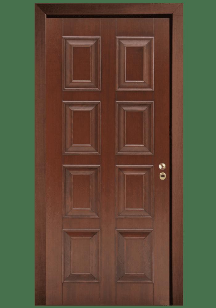 Εικόνα Θωρακισμένη Πόρτα Χειροποίητο με μασίφ κορδόνι