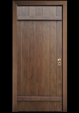 Εικόνα Θωρακισμένη Πόρτα Μασίφ δρυς