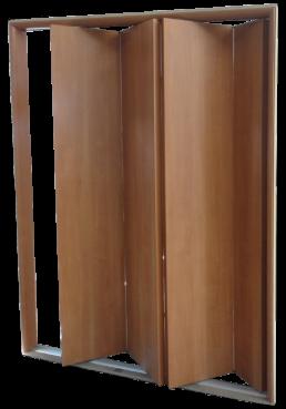 Εικόνα Θωρακισμένη Πόρτα Τετράφυλλη τύπου φυσούνα