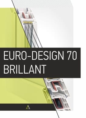 Συστήματα Παραθύρων EURO DESIGN 70 BRILLANT