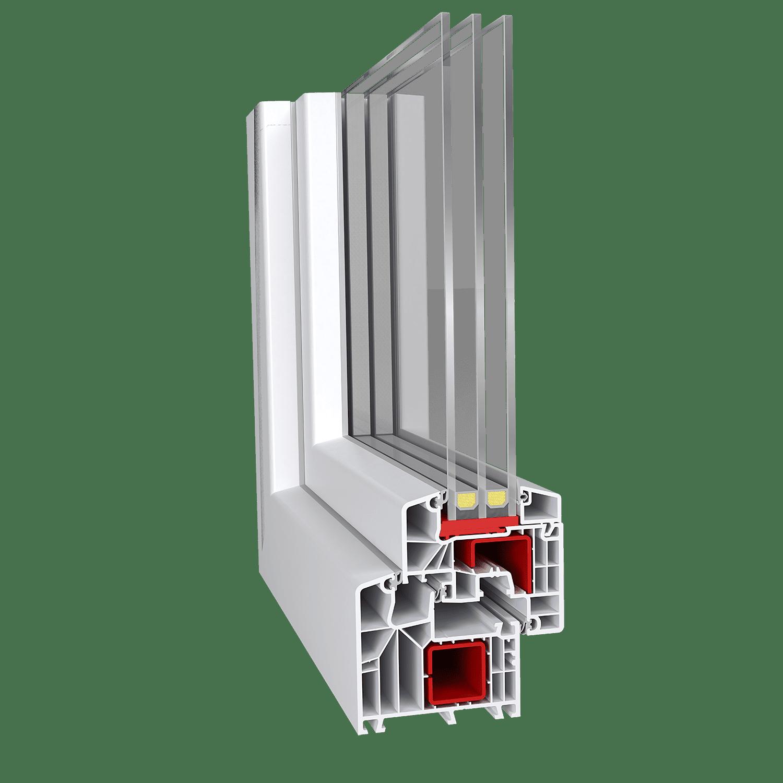 Εικόνα Συνθετικό κούφωμα Aluplast 8000 85mm