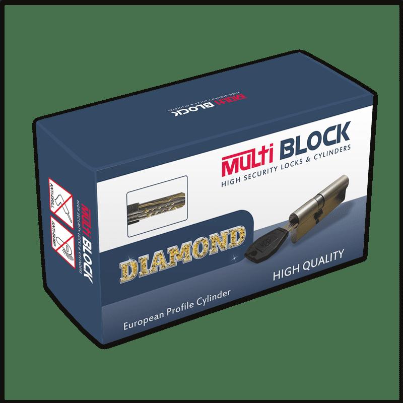 Κλειδαριά ασφαλείας Multiblock Diamond Artist