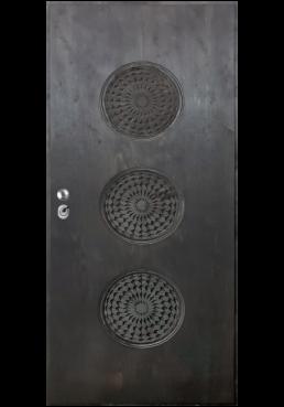 Εσωτερική Πόρτα Πλακάζ θαλάσσης με τρισδιάστατο σχέδιο ex738
