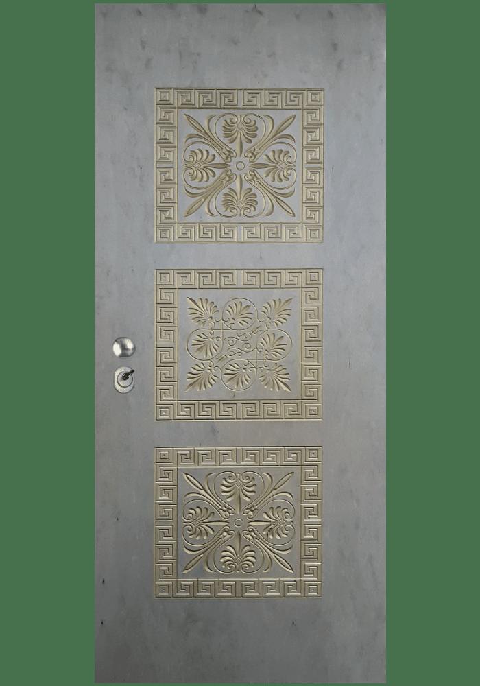 Εσωτερική Πόρτα Πλακάζ θαλάσσης με τρισδιάστατο σχέδιο ex737