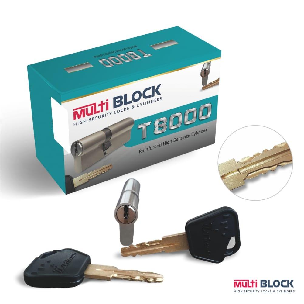 Κύλινδρος Πόρτας Ασφαλείας T8000